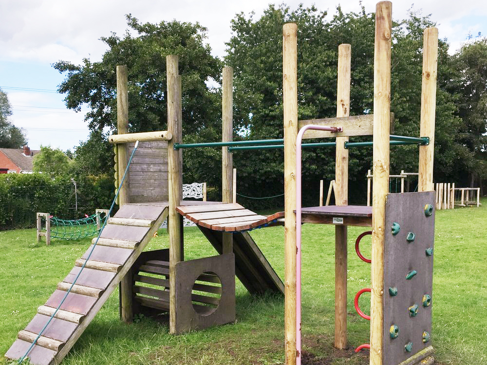 Playground Tower Repaired Playscape Playgrounds