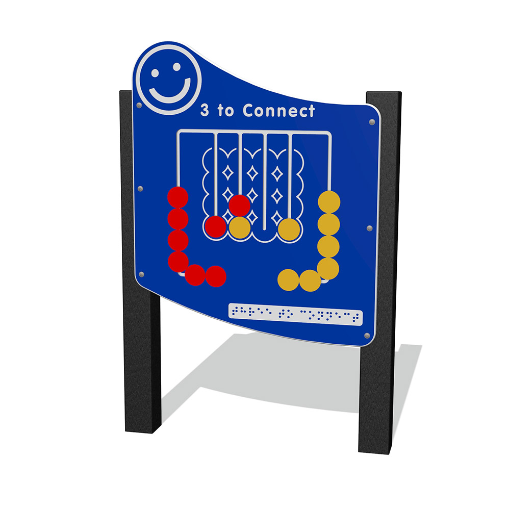 Playscape Playgrounds Inclusive Play - IP302 Connect 3
