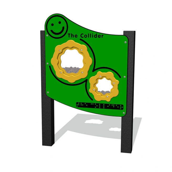 Playscape Playgrounds Inclusive Play - IP303 Collider