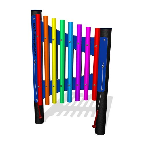 Playscape Playgrounds Inclusive Play - IP410 Rainbow Chimes