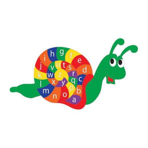Playscape Playgrounds Alphabet Snail Playground markings