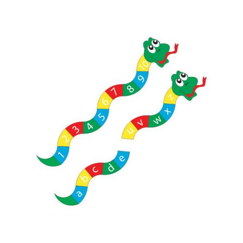Playscape Playgrounds Alphabet Snake playground marking