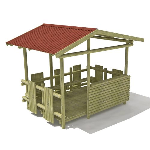 Playscape Playgrounds Beach Shelter