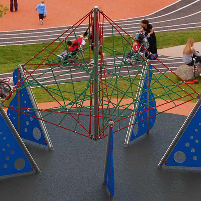 Playscape Playgrounds Levitator 5 New rope climber