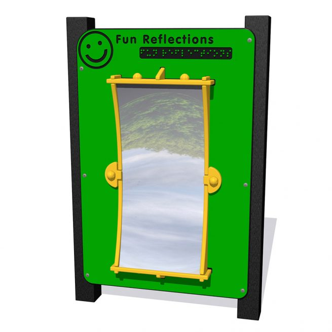 Playscape Playgrounds Inclusive Play - fun-reflections2-IP305