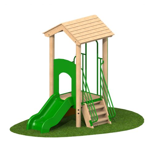 0.6m Single Deck 1 - Playscape Playgrounds
