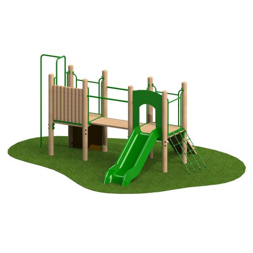 0.9m Double Deck 2 - Playscape Playgrounds