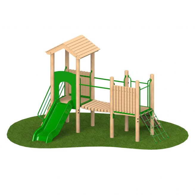 0.9m Double Deck 3 - Playscape Playgrounds