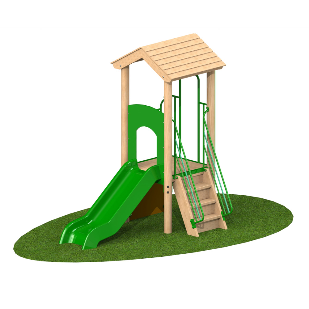0.9m Single Deck 1 - Playscape Playgrounds