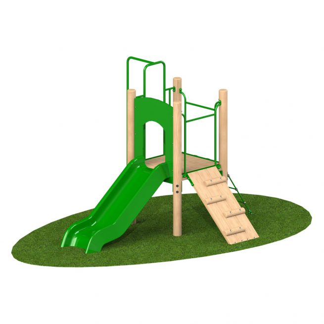0.9m Single Deck 2 - Playscape Playgrounds