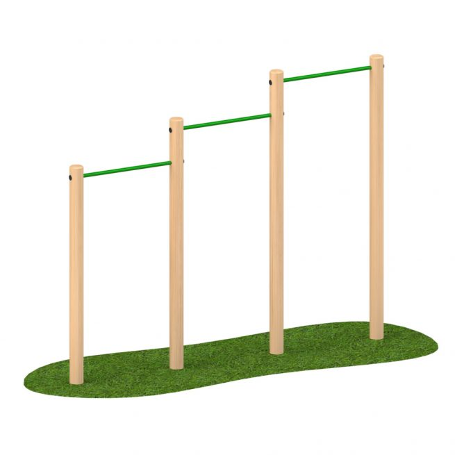 Playscape Playgrounds 2-4m Chins Up