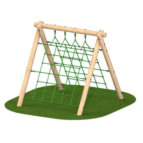 Playscape Playgrounds - A Frame High With Nets