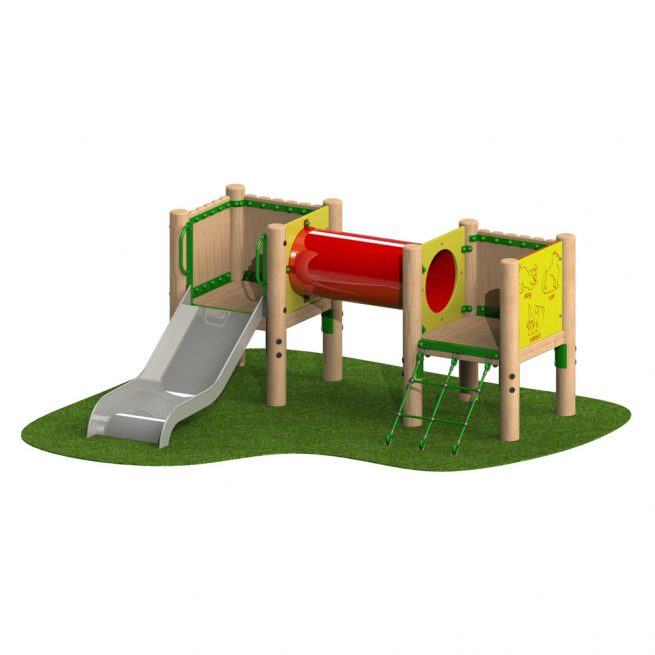 Acorn Toddler Tower - Playscape Playgrounds