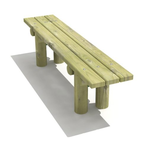 Ashwell Bench - Playscape Playgrounds
