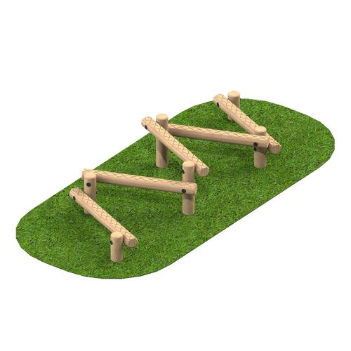 Playscape Playgrounds Balance Slalom