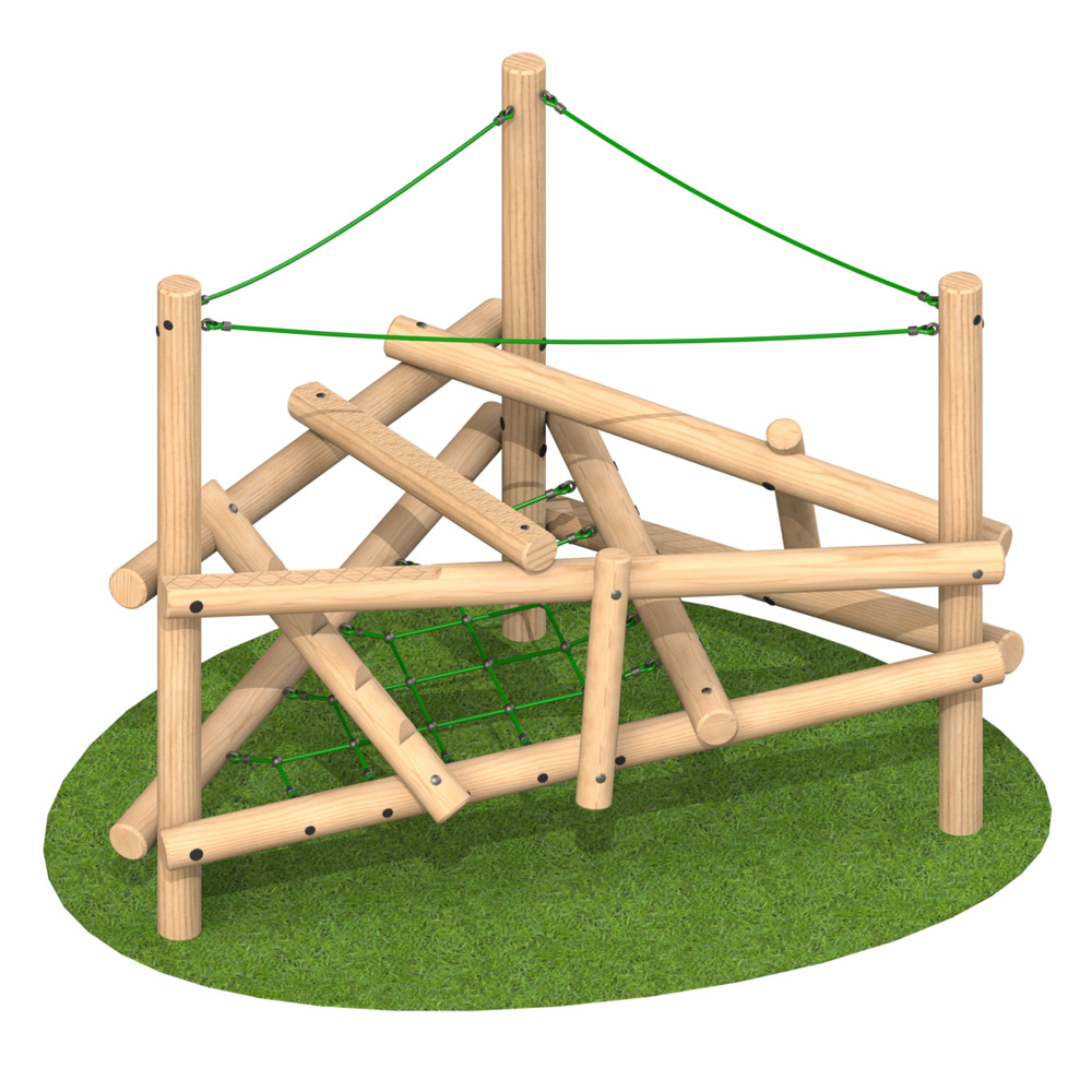 Climber Stack 1 - Playscape Playgrounds