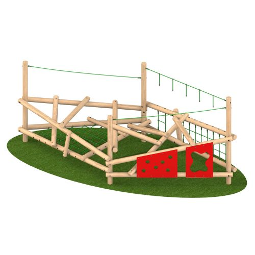 Climber Stack 4 - Playscape Playgrounds