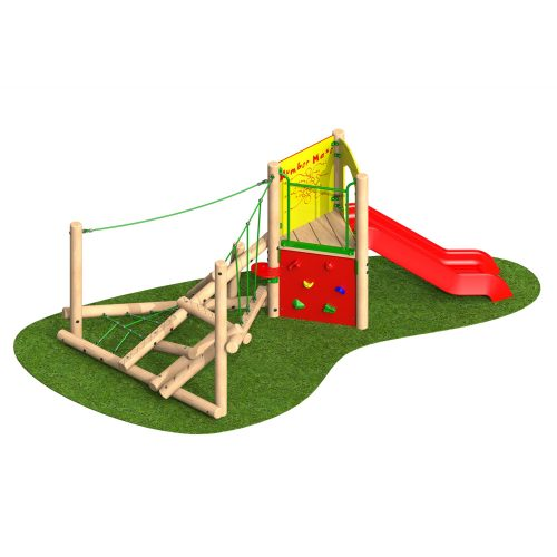 Climber Stack Midi with Slide - Playscape Playgrounds