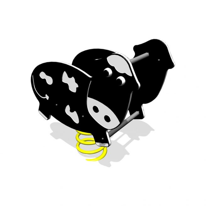 The Playscape Playgrounds Cow Rocker