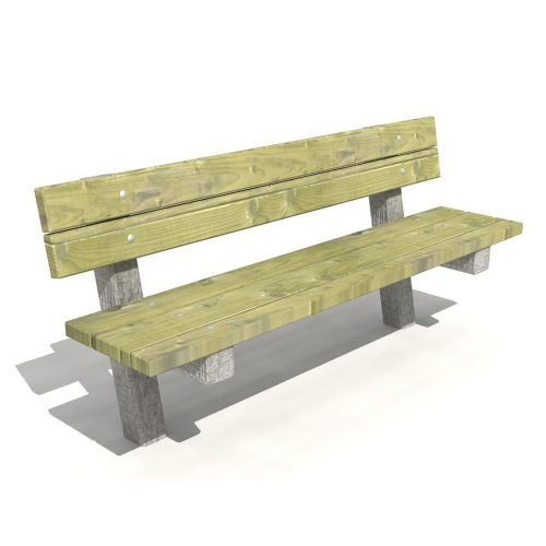 Graffham Bench - Playscape Playgrounds