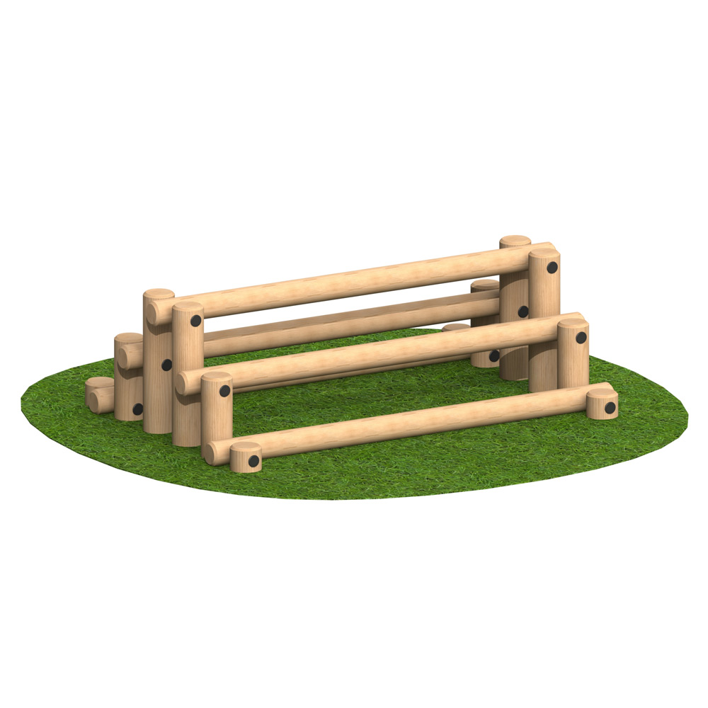 Playscape Playgrounds Log Stack