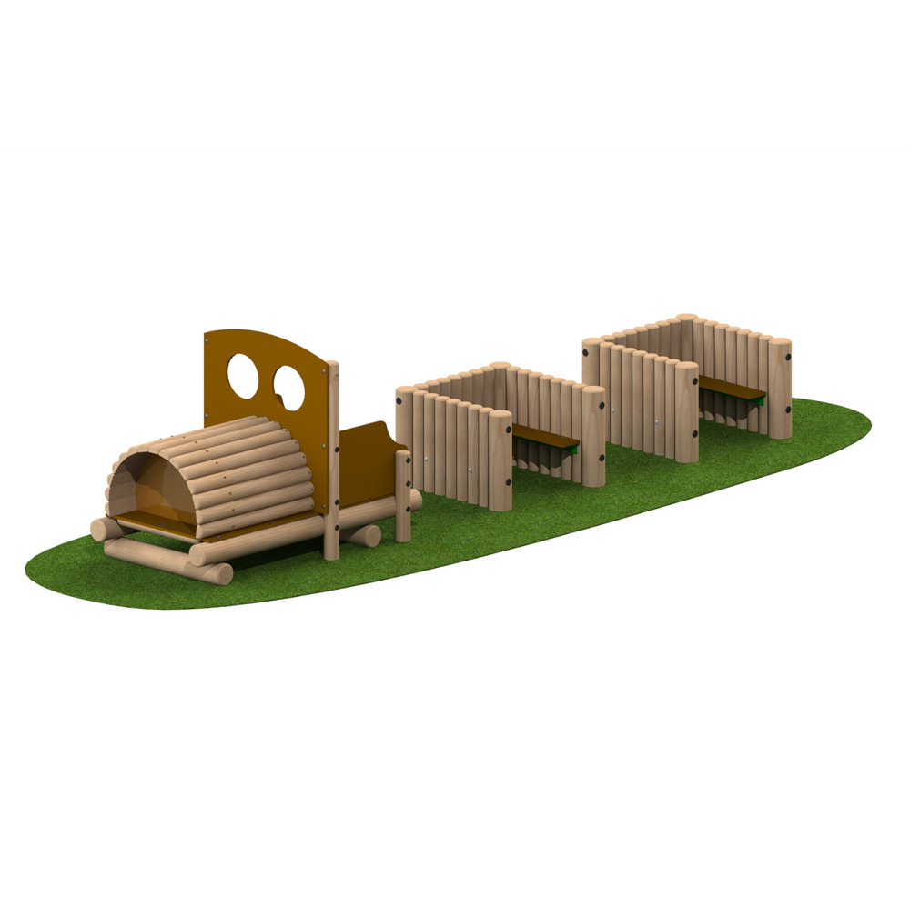 Playscape Playgrounds Log Train