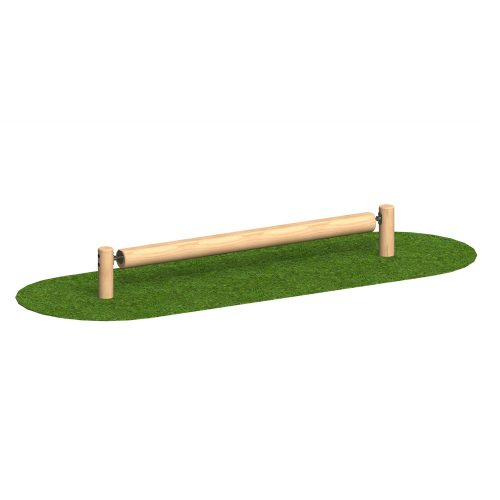 Monkey Bar Log - Playscape Playgrounds Low Log Roll