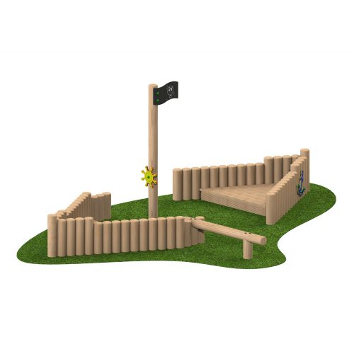 Mini Pirate Ship - Playscape Playgrounds