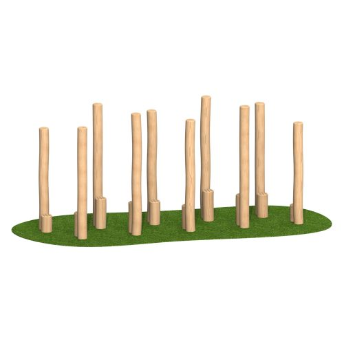 Peeled Stilts - Playscape Playgrounds