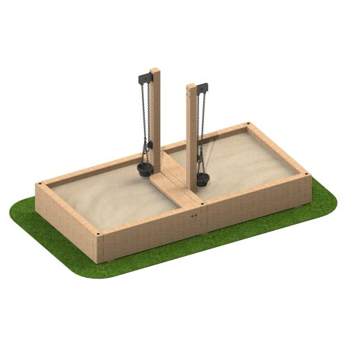 Sandpit with Sand Crane - Playscape Playgrounds