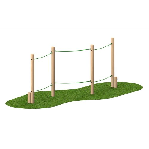 Playscape Playgrounds Slalom Rope Walk