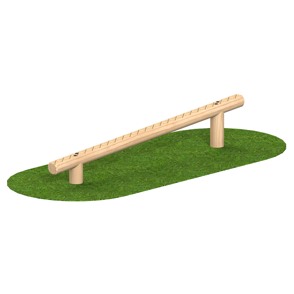 Playscape Playgrounds Sloping Balance Walk