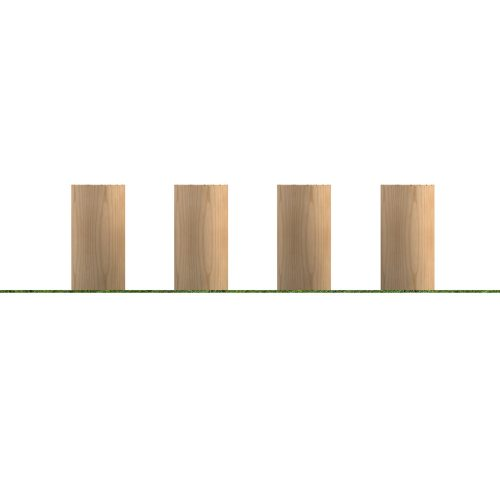Playscape Playgrounds Stepping Logs 200mm