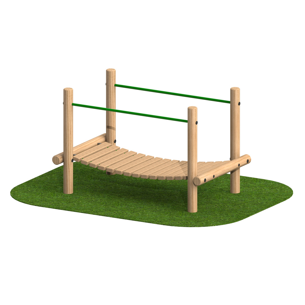 Playscape Playgrounds Suspension Bridge