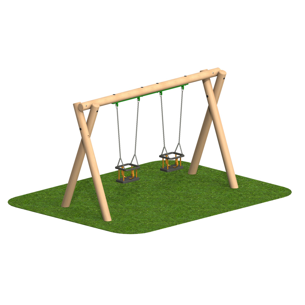 Timber Swing 2 Cradle Seat - Playscape Playgrounds