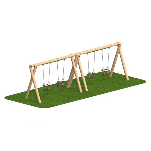 Timber Swing 4 Cradle Seat - Playscape Playgrounds