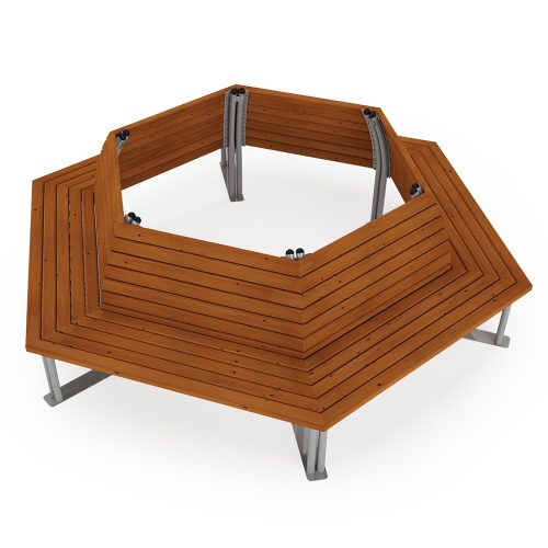 Tree Bench - Playscape Playgrounds