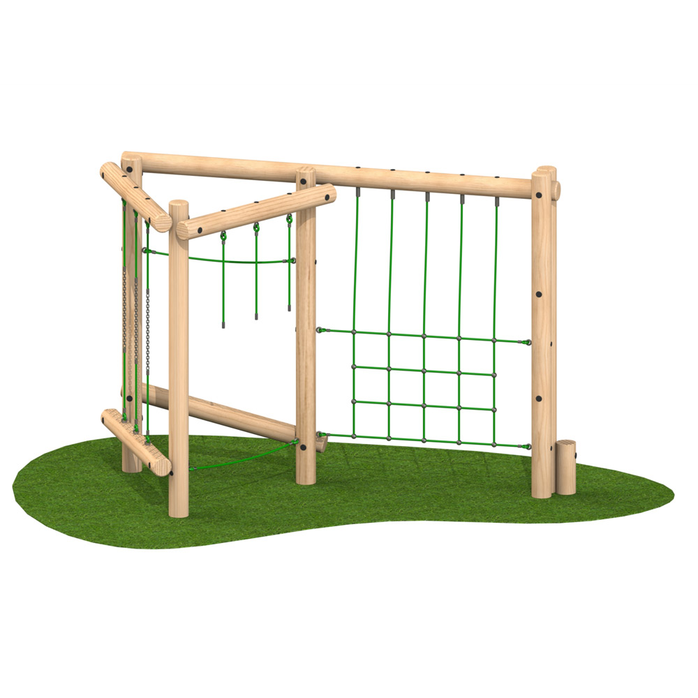 Tri Play Challenge 2 Option 1 - Playscape Playgrounds