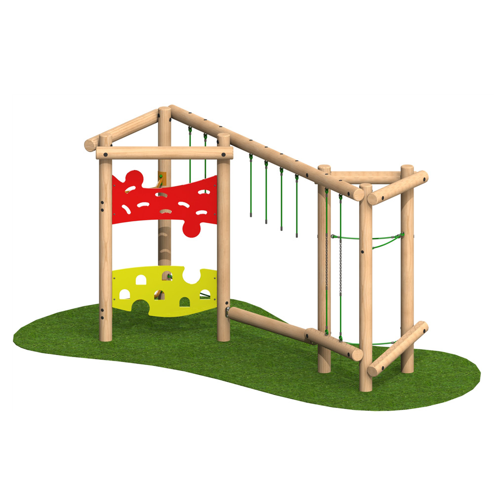 Tri Play Challenge 3 Option 2 - Playscape Playgrounds