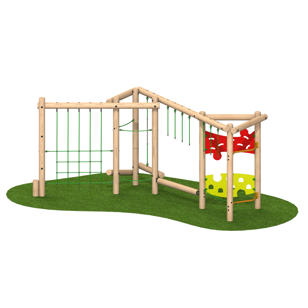 Tri-Play Challenge 4 Option 1 - Playscape Playgrounds