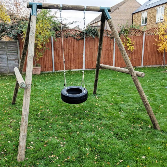 Single Garden Swing - Playscape-Playgrounds2