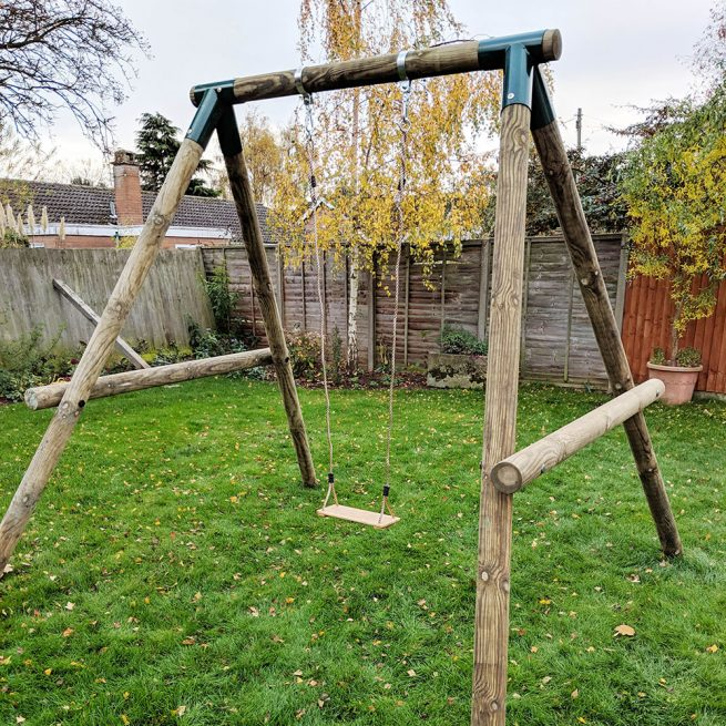 Single Garden Swing - Playscape-Playgrounds3