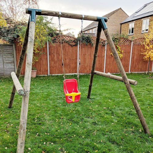 Single Garden Swing - Playscape-Playgrounds1