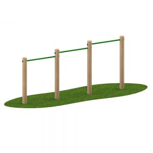 Playscape Playgrounds Chin Ups 3 Position