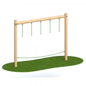 Playscape Playgrounds Drop Rope Traverse