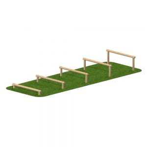 Playscape Playgrounds Log Hurdles