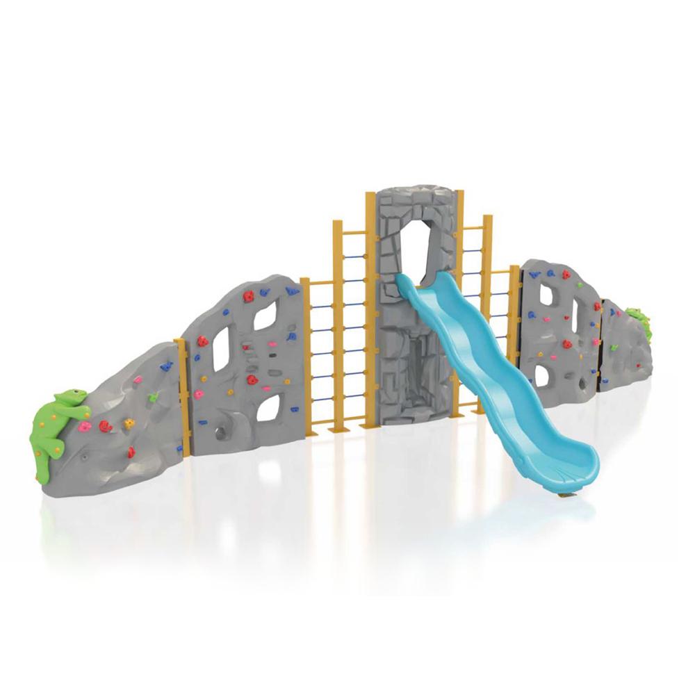 Modular Climbing Wall - with Slide PSCCA910