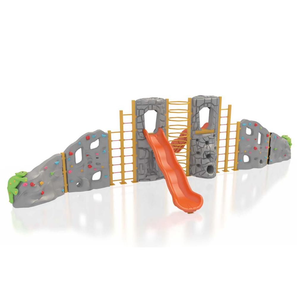 Modular Climbing Wall - with Slide PSCCA911