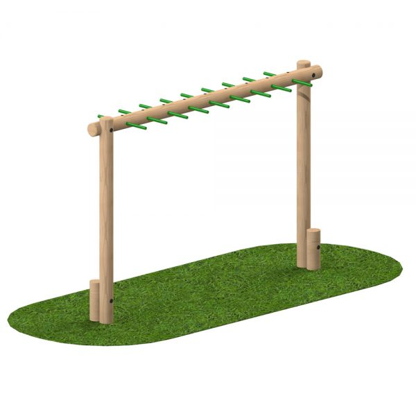 Monkey Bar Log - Playscape Playgrounds