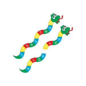 Alphabet Snake Playground Markings